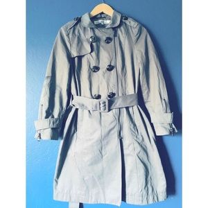⚡️3/$20 Kenneth Cole Double-Breasted Trench Coat